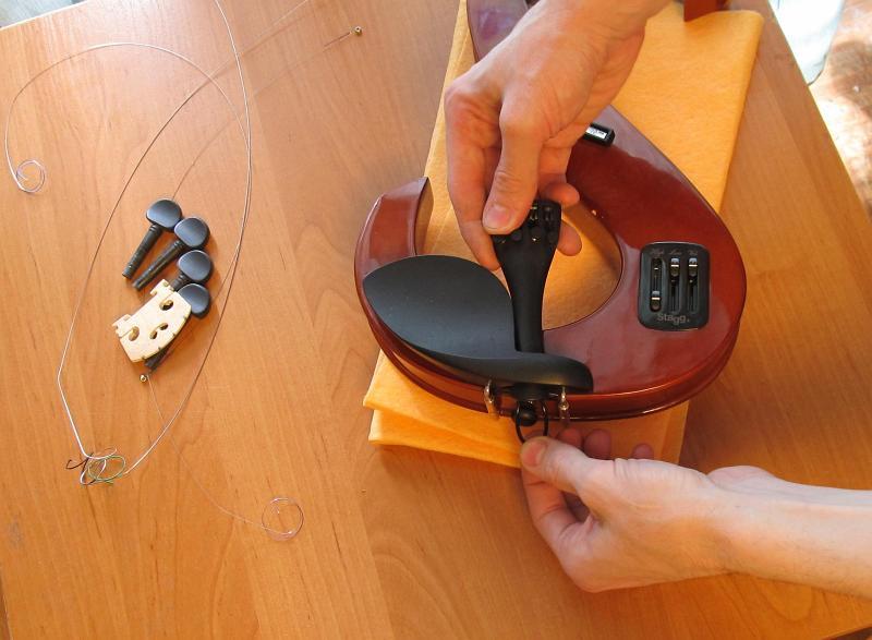 Как сделать электроскрипку